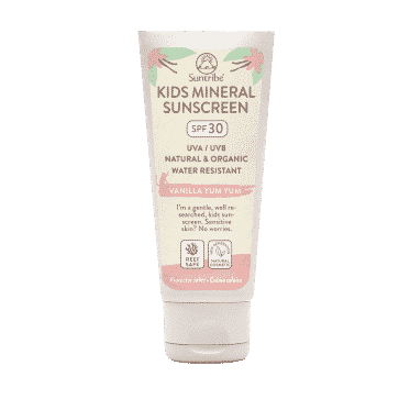 Suntribe All Natural Mineral Kids Vanilla Sunscreen SPF 30