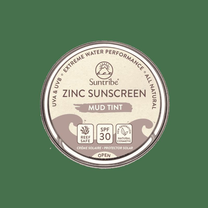 Suntribe All Natural Zinc Sunscreen Face & Sport SPF30   Tinted