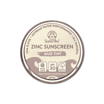 Suntribe All Natural Zinc Sunscreen Face & Sport SPF30 | Tinted