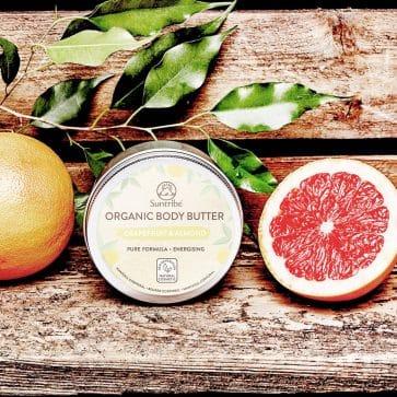 Suntribe Bio-Körperbutter Grapefruit & Mandel