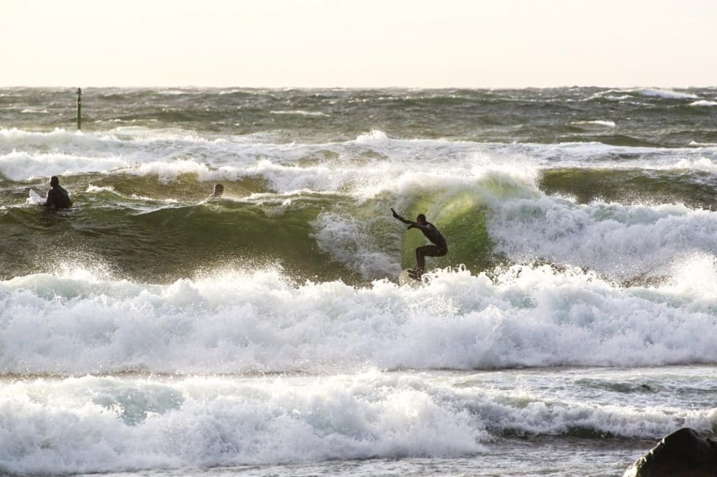 Surfing in Sweden
