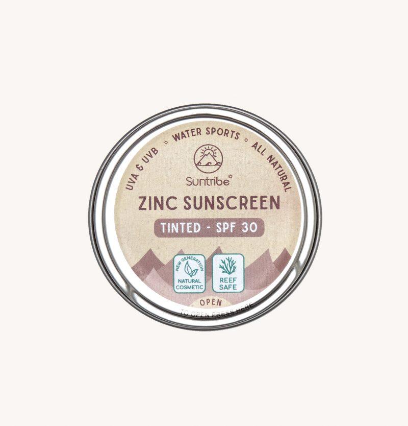 Suntribe ® | All Natural Zinc Sunscreen TintedSuntribe ® | SPF 30 Natural Zinc Sunscreen Tinted Suntribe ® | SPF 30 Natural Zinc Sunscreen Tinted SPF 30 Plasticfree Reefsafe Biodegradable Organic Surf Sunblock Non-Nano