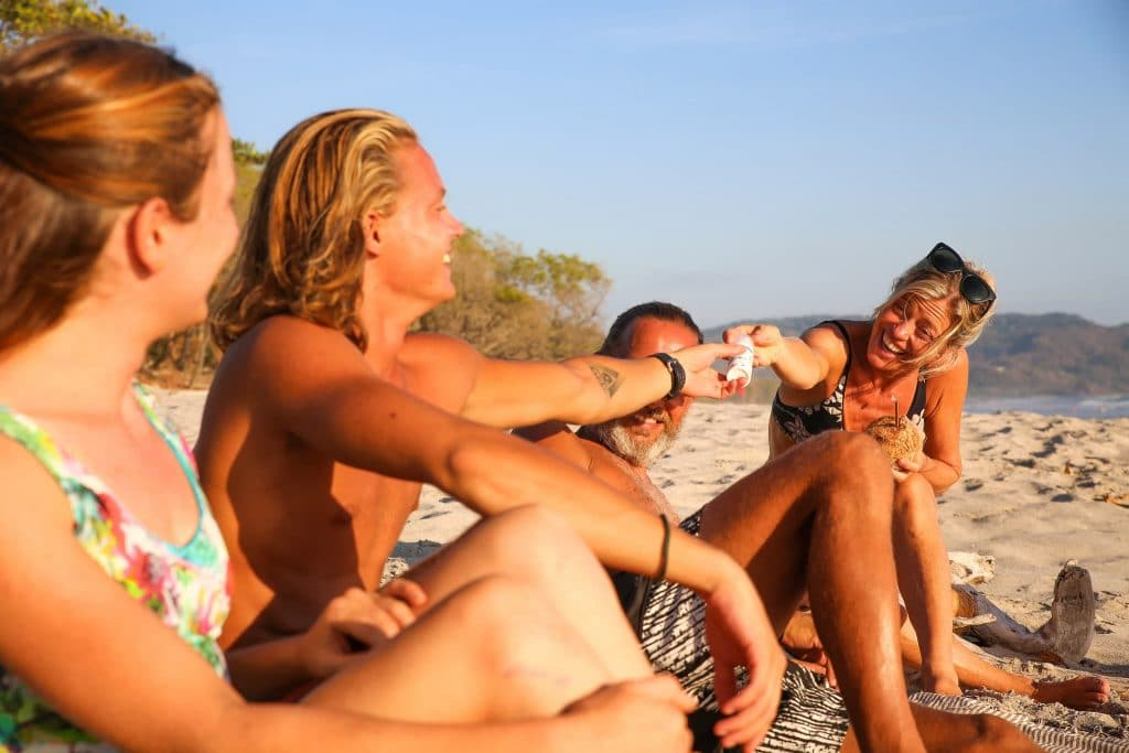Suntribe ® | Natural Zinc Sunscreen SPF 30 Plasticfree Reefsafe Organic Surf Sunblock Non-Nano