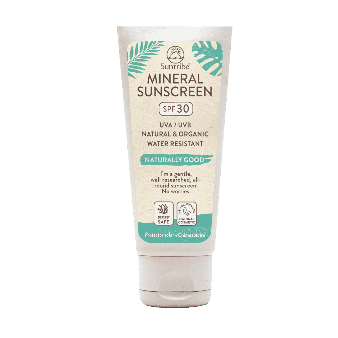 Suntribe All Natural Mineral Body & Face Sunscreen SPF30 - 60 ml / 2 oz