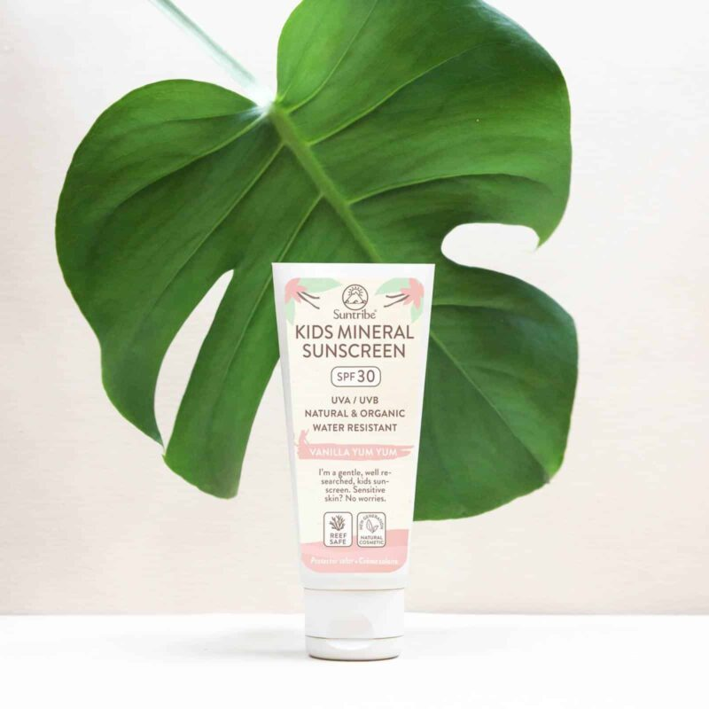 Suntribe All Natural Mineral Kids Vanilla Sunscreen SPF 30