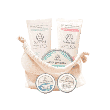 Suntribe All Natural Family Bundle | Sunscreen & Aftersun Combo