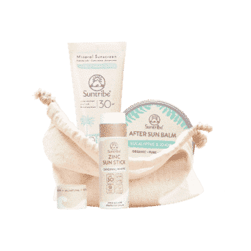 Suntribe All Natural Sports Bundle | Sunscreen & Aftersun Combo