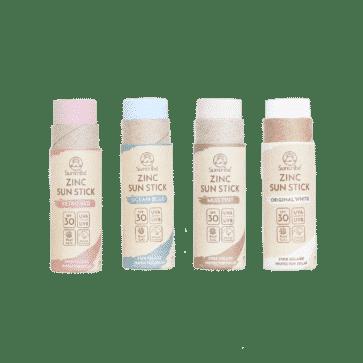 Suntribe All Natural Zinc Sun Stick SPF 30 | 4 Colours