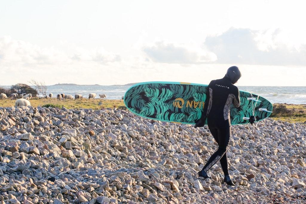 Spring Surfing In Sweden